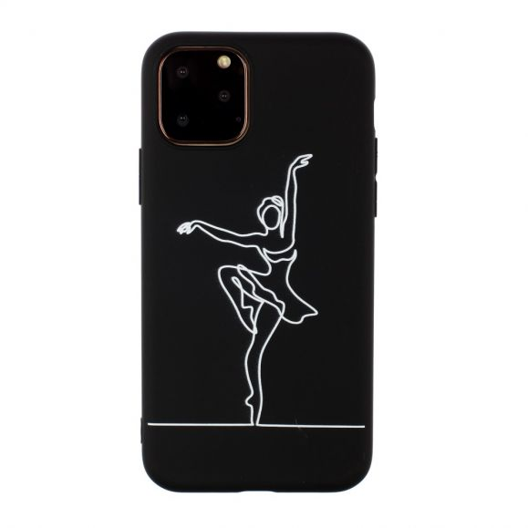 iPhone 11 Pro Max - Coque silicone Danseuse de ballet