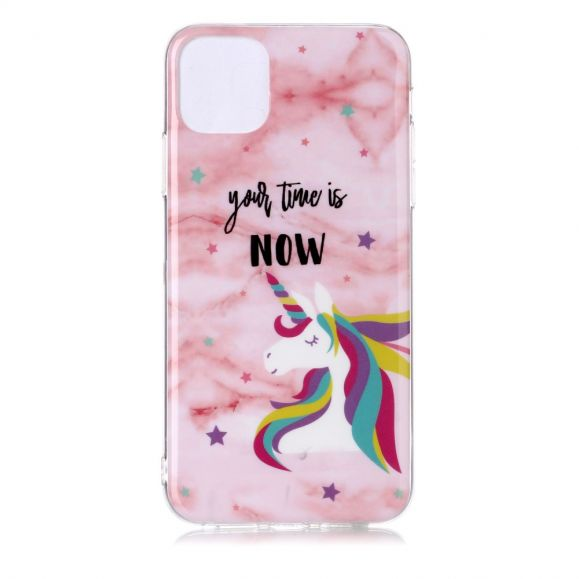 iPhone 11 Pro Max - Coque Licorne Your time is now licorne