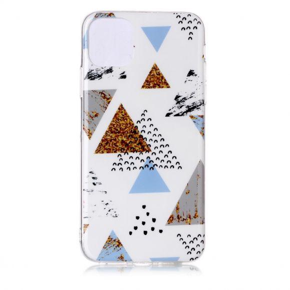 iPhone 11 Pro Max - Coque motifs triangles