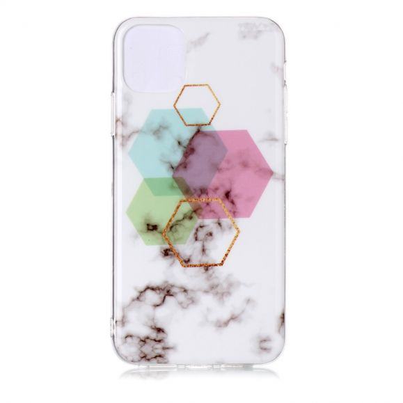 iPhone 11 Pro Max - Coque motifs hexagone