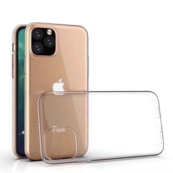 Coque transparente silicone pour iPhone 11 Pro Max
