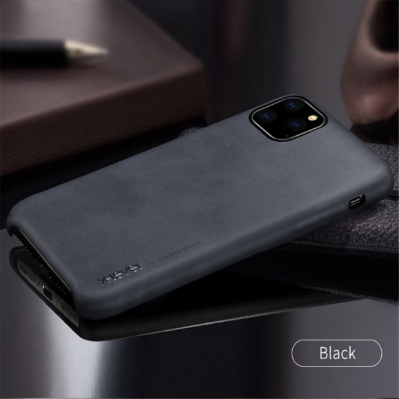 iphone 11 pro max coque vintage serie imitation cuir