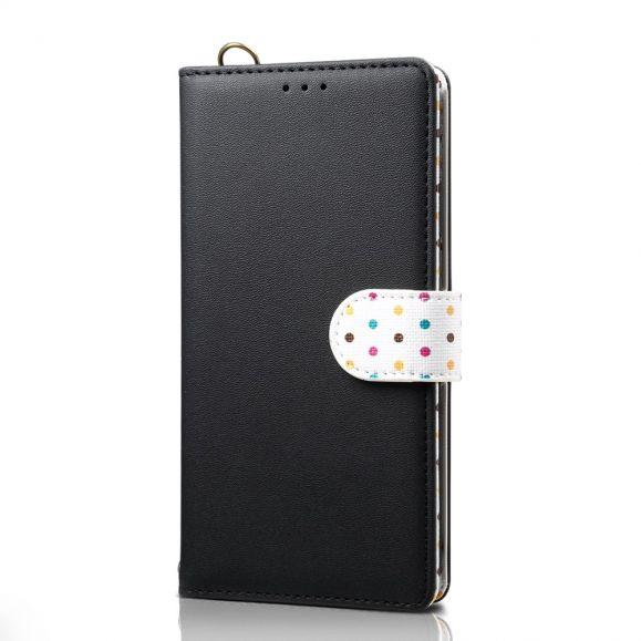 Xiaomi Mi 9 Lite - Étui vintage motifs pois