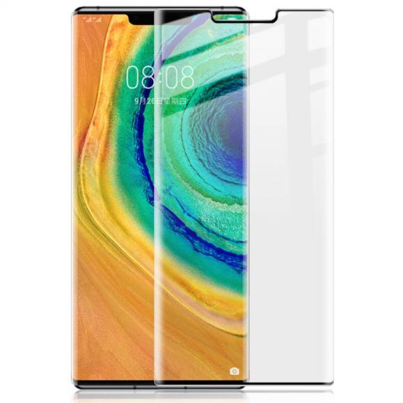 Huawei Mate 30 Pro - Protection d'écran en verre trempé full size - noir