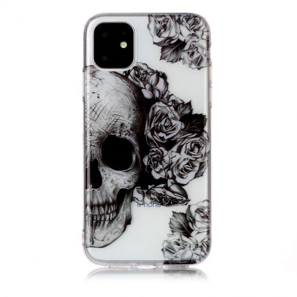 iPhone 11 - Coque Skull flower