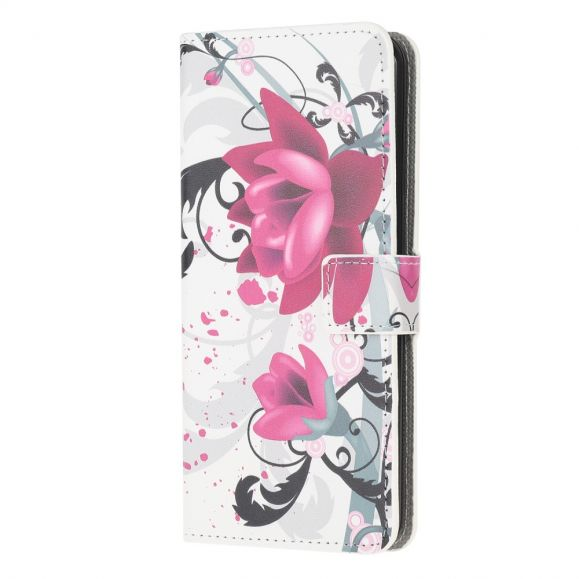 Xiaomi Redmi Note 8 Pro - Housse Fleurs de lotus