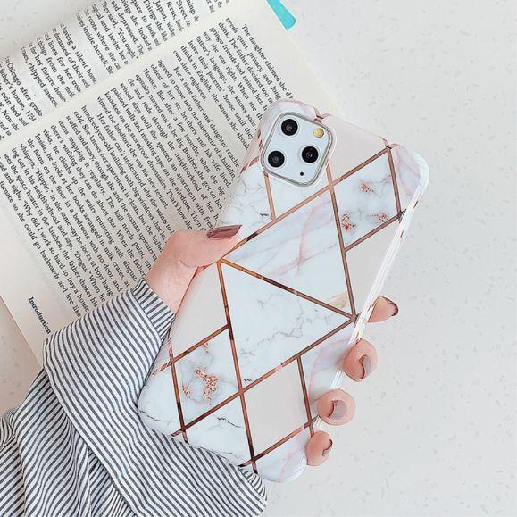 iPhone 11 Pro Max - Coque motifs géométriques