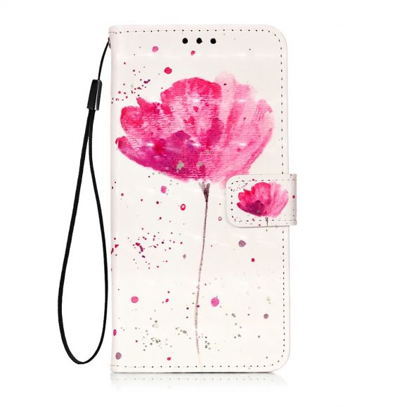 Sony Xperia 5 - Housse fleur rose