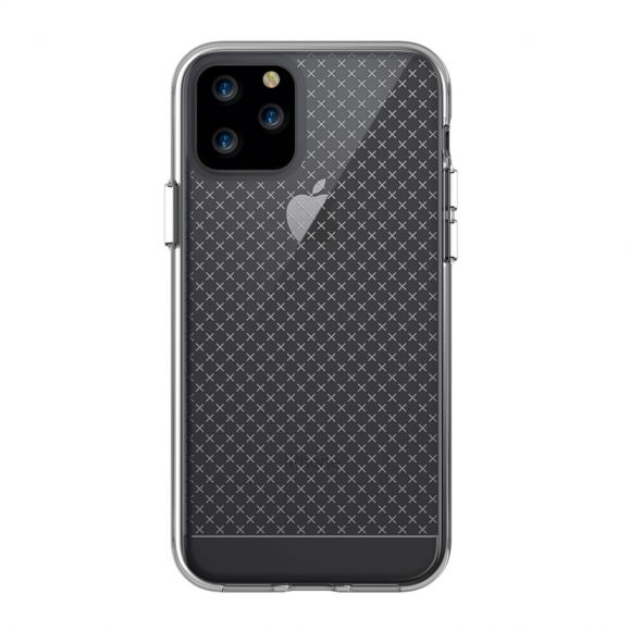 iPhone 11 Pro - Coque transparente multiples croix
