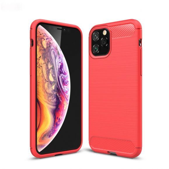 iPhone 11 Pro - Coque Brossée en Gel