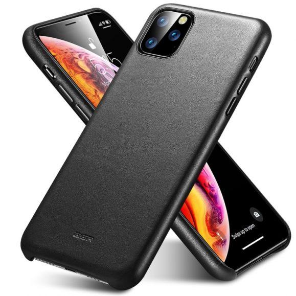 iPhone 11 Pro Max - Coque Metro Cuir