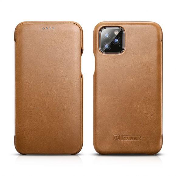 iPhone 11 Pro Max - Housse ICARER cuir véritable