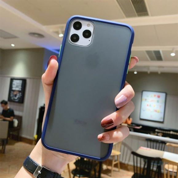 iPhone 11 Pro Max - Coque bord coloré