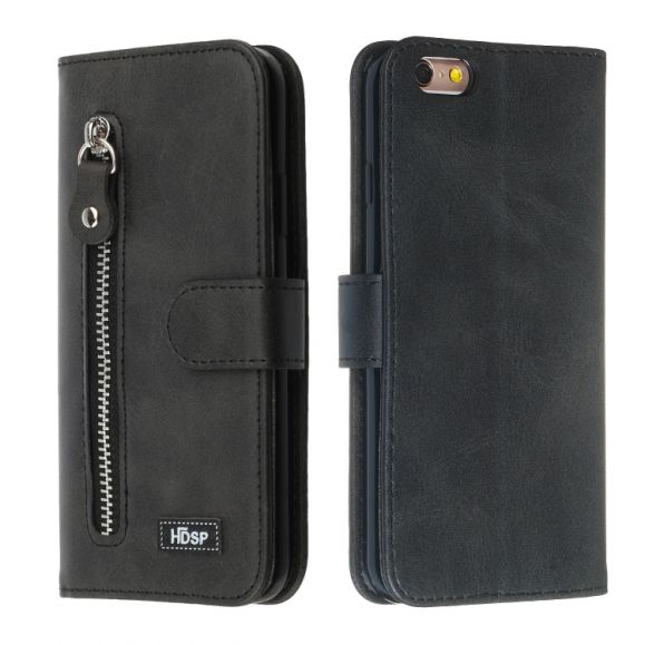 iPhone 8 Plus / 7 Plus - Housse Zipper imitation cuir