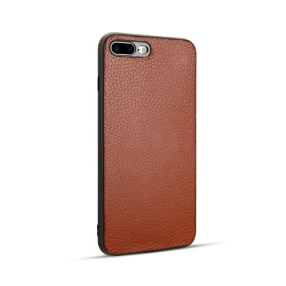 iPhone 8 Plus / 7 Plus - Coque imitation cuir grainé