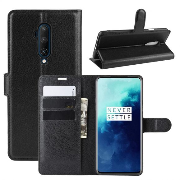 OnePlus 7T Pro - Housse portefeuille style cuir
