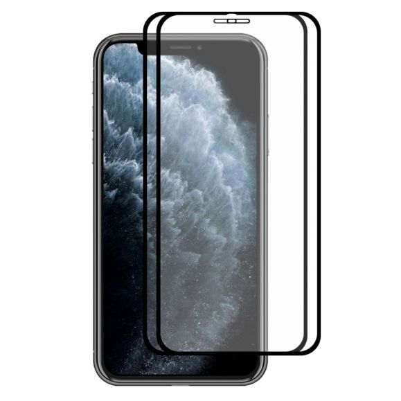 iPhone 11 Pro - Pack de 2 films en verre trempé full size