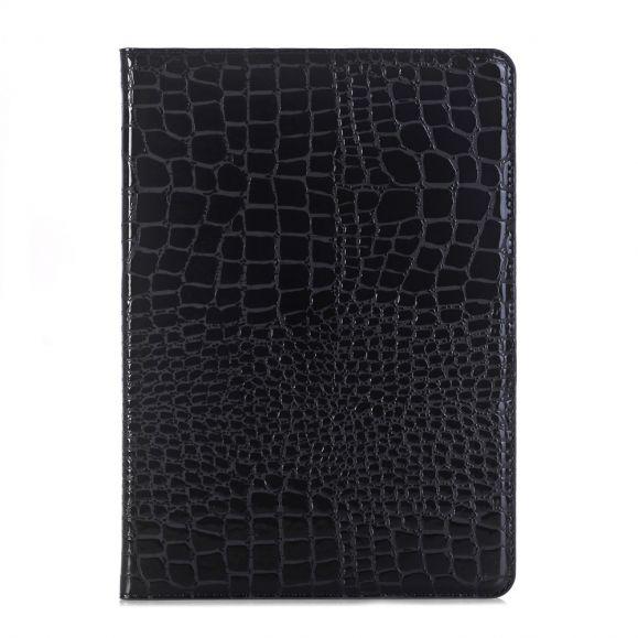iPad 10.2 - Housse effet croco simili cuir