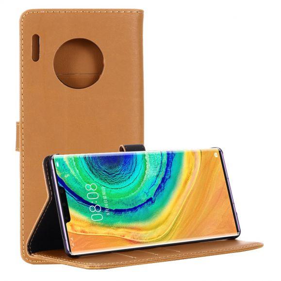 Huawei Mate 30 Pro - Housse simili cuir rétro