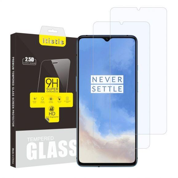 OnePlus 7T - Pack de 2 films en verre trempé