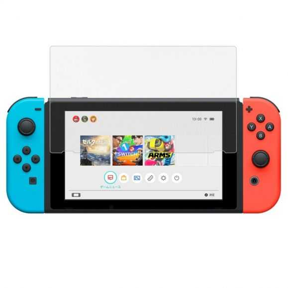 Protection en verre trempé pour Nintendo Switch