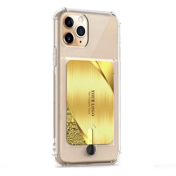 iPhone 11 Pro Max - Coque silicone porte carte