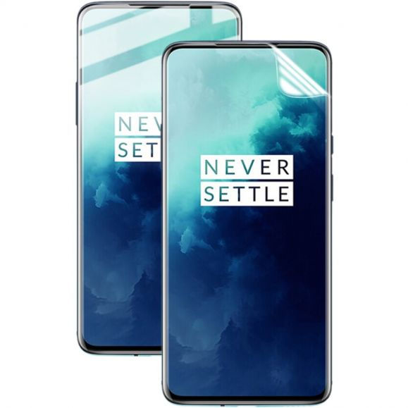 OnePlus 7T Pro - 2 films protecteur d'écran full protection en hydrogel