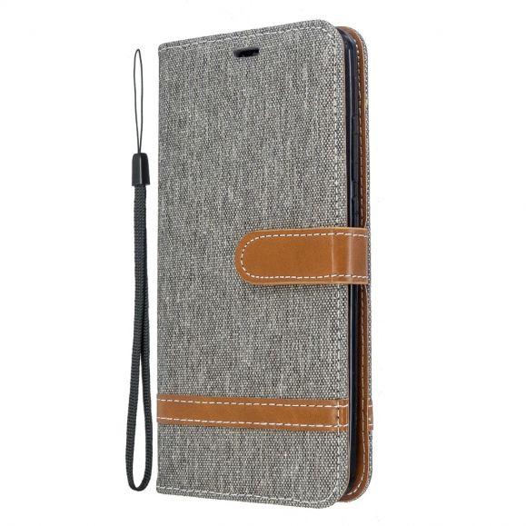 Xiaomi Redmi 8 - Housse revêtement tissu porte cartes