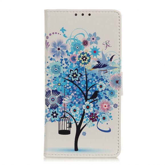 Xiaomi Redmi Note 8T - Housse Arbre bleu