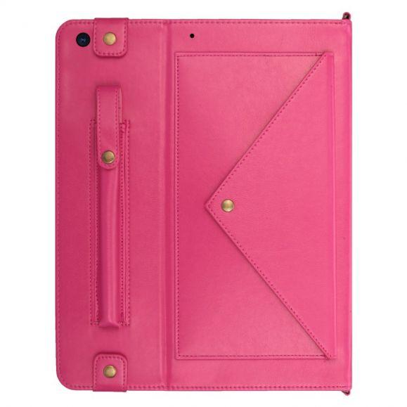 iPad 10.2 (2019) - Housse Simili Cuir avec Lanière