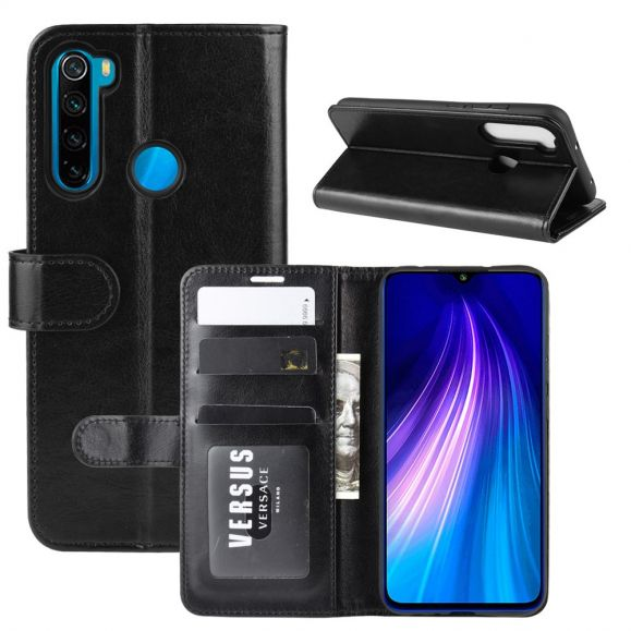 Xiaomi Redmi Note 8 - Housse imitation cuir fonction support