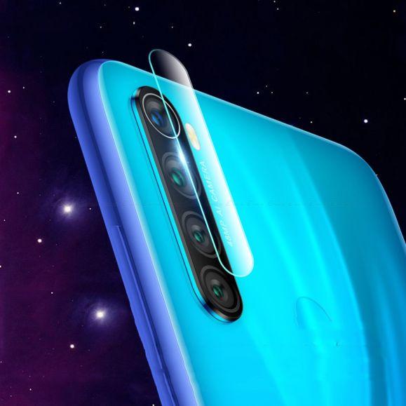 Xiaomi Redmi Note 8T - 2 films en verre trempé pour objectif camera arrière