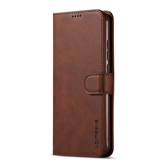 Xiaomi Redmi Note 8T - Étui imitation cuir portefeuille