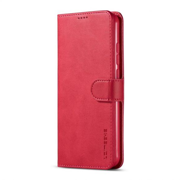 Étui Xiaomi Redmi Note 8T imitation cuir portefeuille