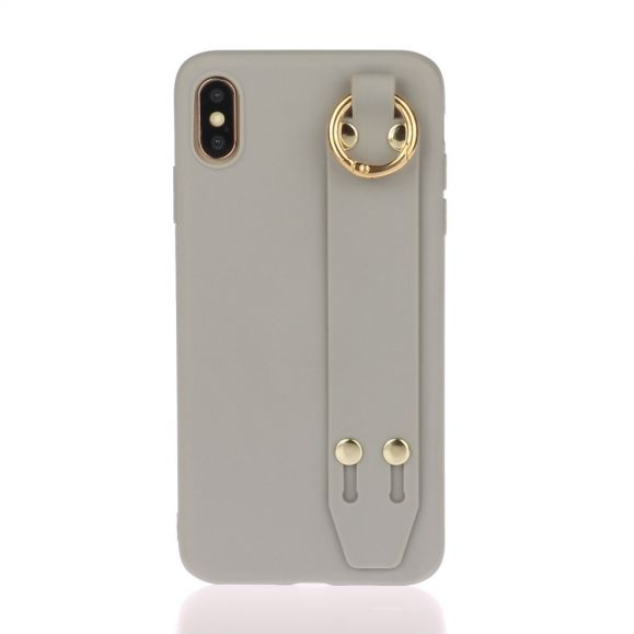 iPhone XS Max - Coque Strap en silicone