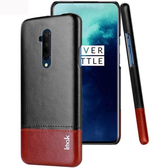 OnePlus 7T Pro - Coque imak bicolore imitation cuir