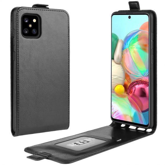 Samsung Galaxy Note 10 Lite - Housse simili cuir avec rabat verticale