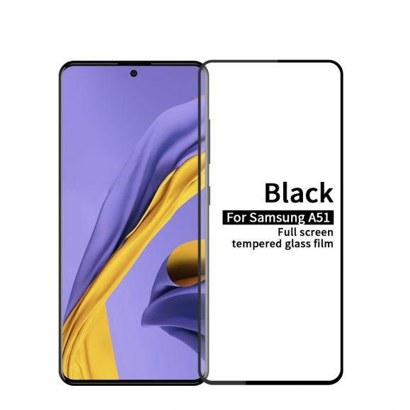 Samsung Galaxy A51 - Protection d'écran en verre trempé full size