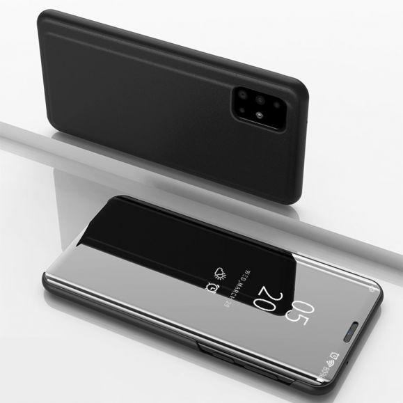 Samsung Galaxy A51 - Coque avec rabat effet miroir