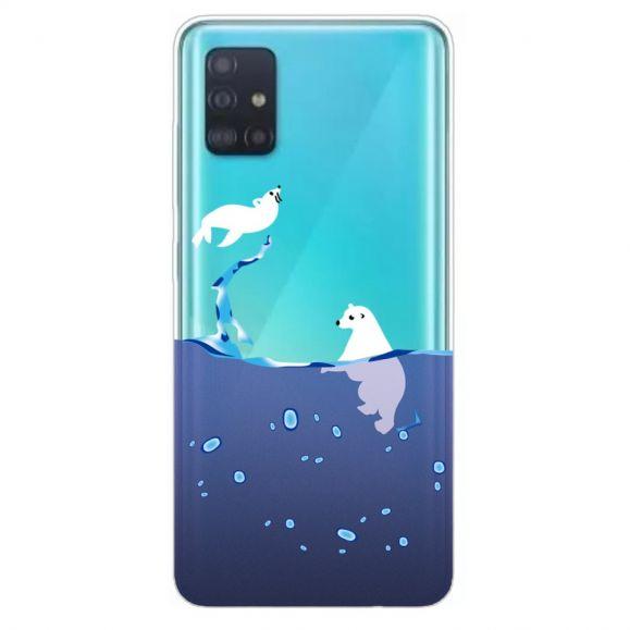Samsung Galaxy A51 - Coque phoque et ours blanc