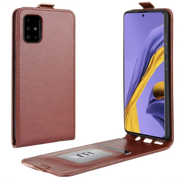 Samsung Galaxy A51 - Étui simili cuir avec rabat verticale