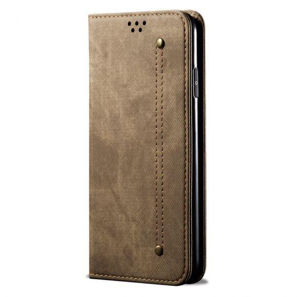 Housse Xiaomi Mi Note 10 / Note 10 Pro simili cuir style jeans