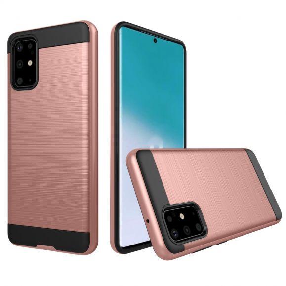 La Sabine - Coque Samsung Galaxy S20 Effet Métal Brossé