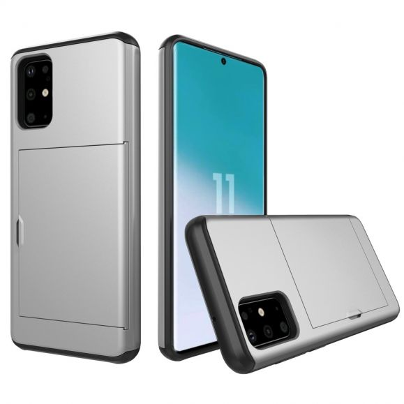 LoCard - Coque Samsung Galaxy S20 effet mat porte carte