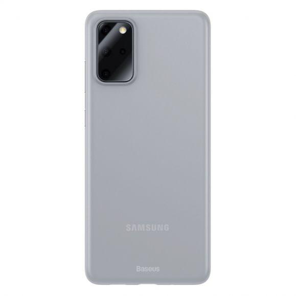 Thin Fit  - Coque Samsung Galaxy S20 Plus fine semi transparente blanc