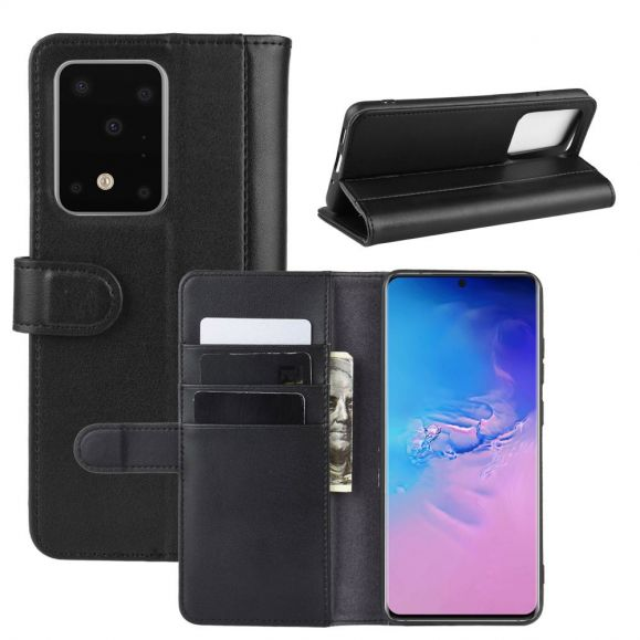 Housse Samsung Galaxy S20 Ultra cuir premium