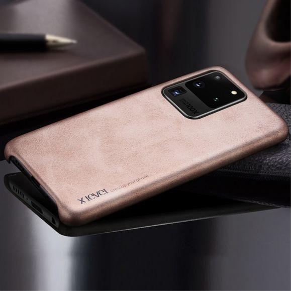 Vintage Series - Coque Samsung Galaxy S20 Ultra effet cuir