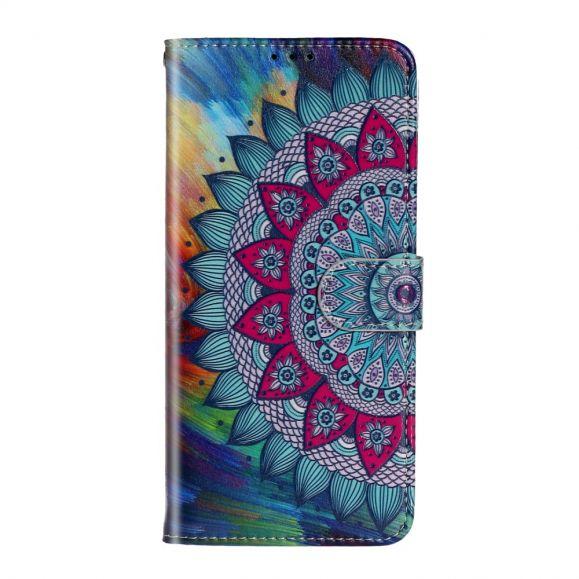 Housse Samsung Galaxy A51 mandala fleur