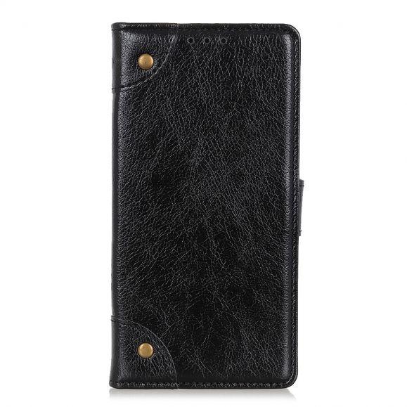 Simon - Étui OnePlus 8 porte cartes simili cuir
