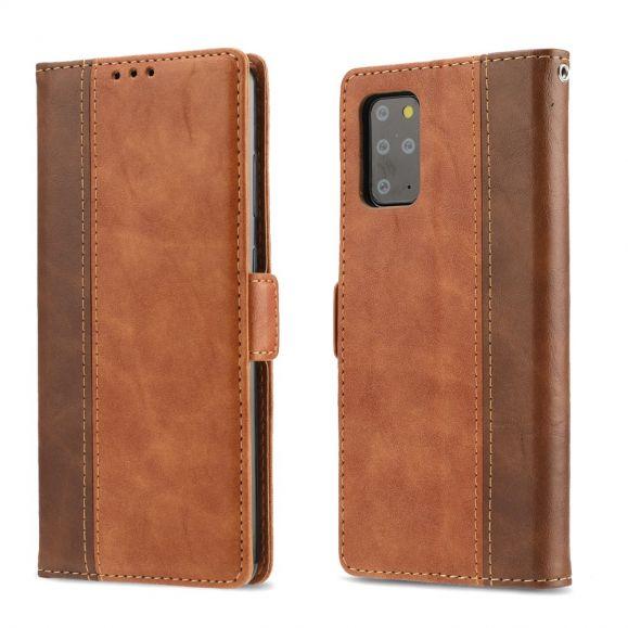 Hirachus - Housse Samsung Galaxy S20 Plus portefeuille effet cuir